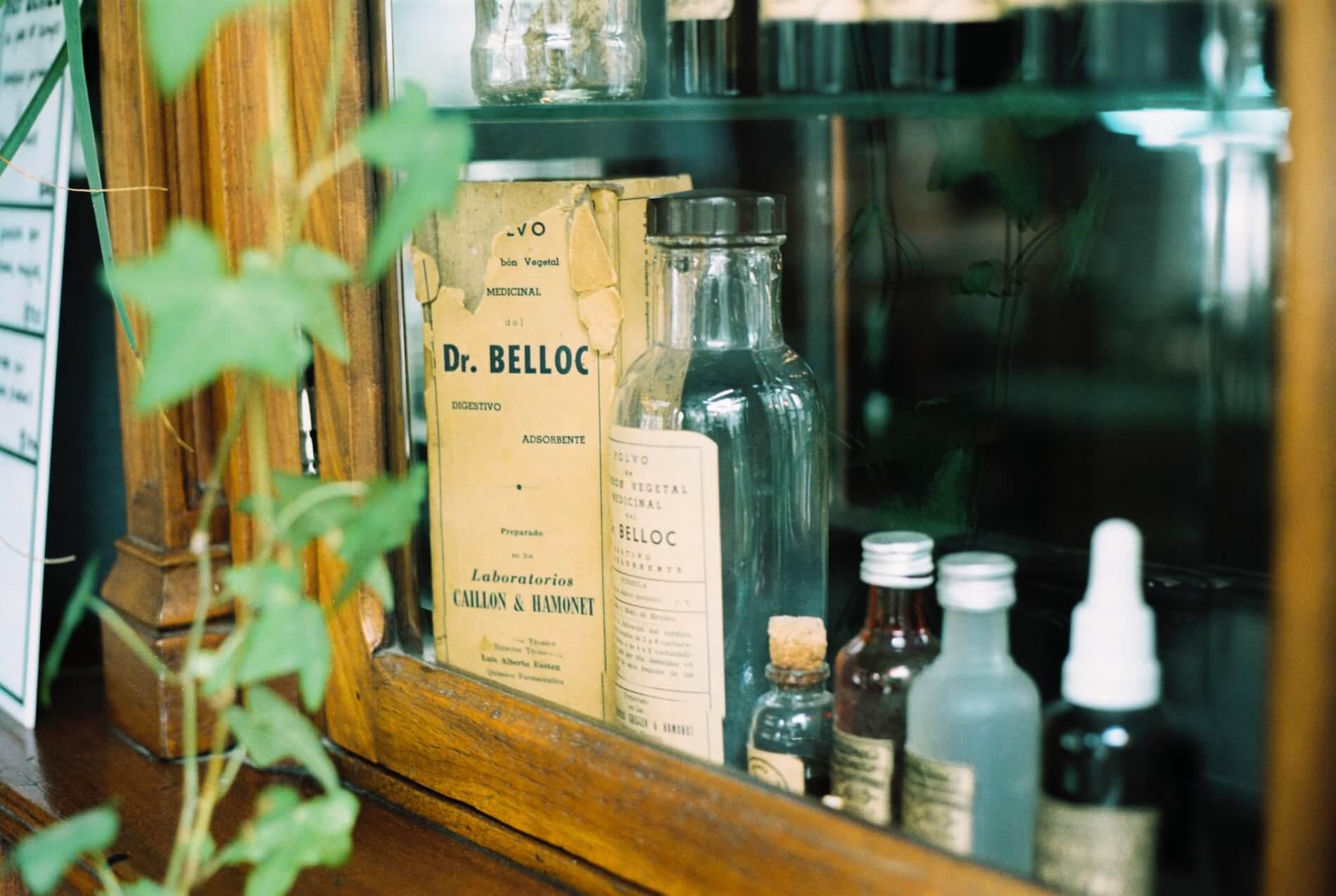 lääke-pulloja